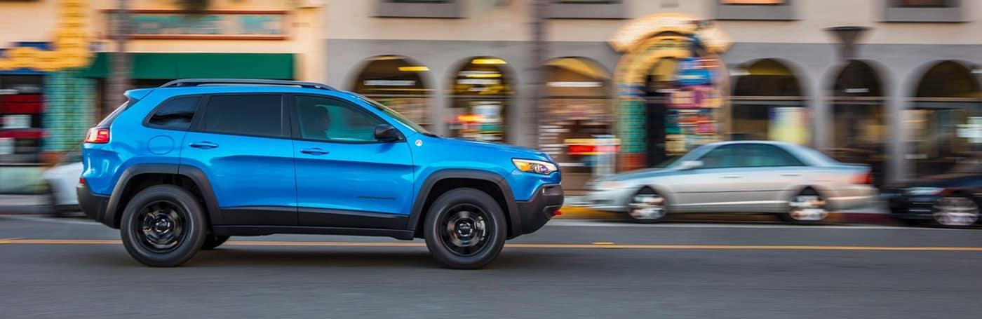 2020 Jeep Cherokee, Light Blue Exterior