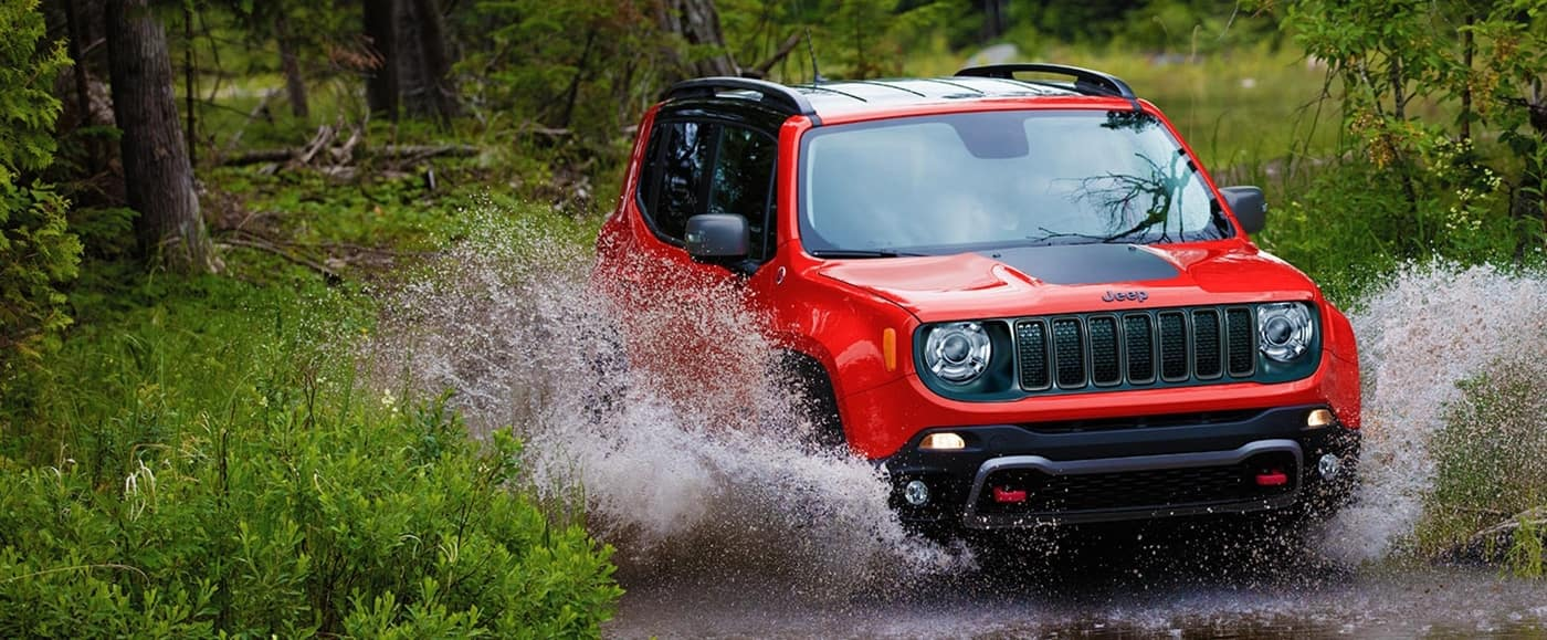 2021 Jeep Renegade Off Roading