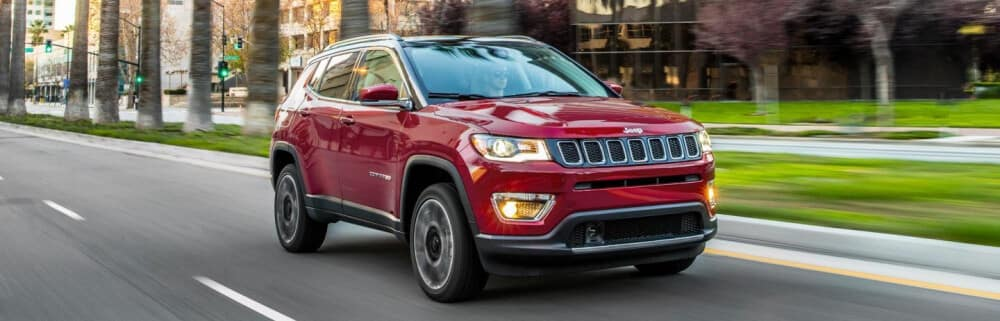 2021 Jeep Compass, Red Exterior