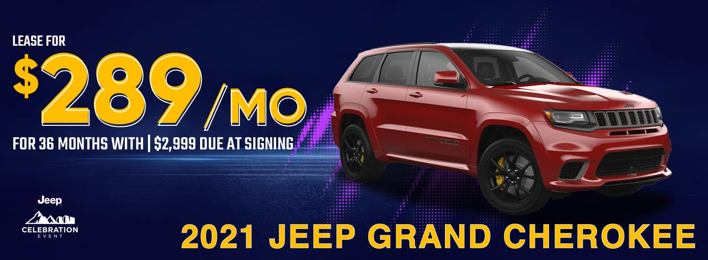 Grand Cherokee lease banner