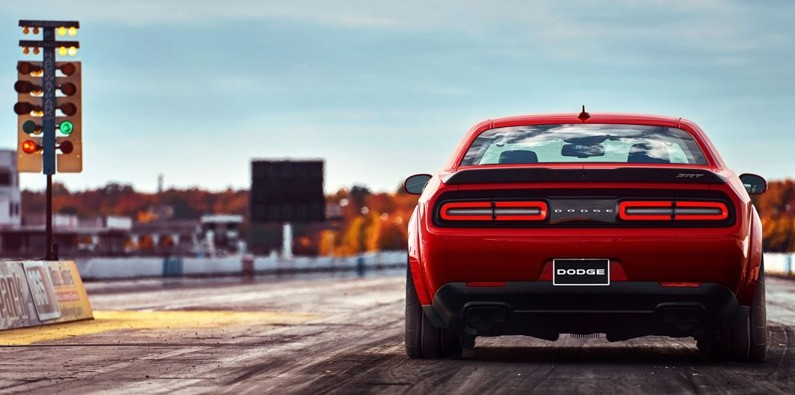Dodge Demon track