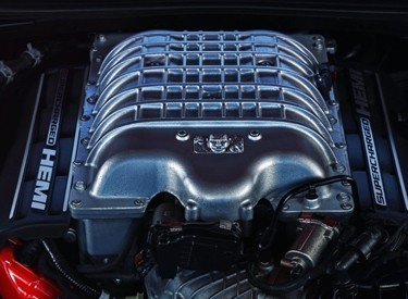 Demon V8 Engine