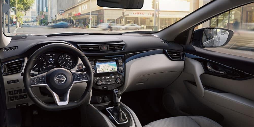 2018.5 Nissan Rogue Sport Interior design