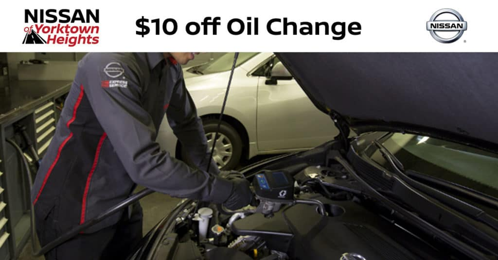 Nissan Oil Change s & Auto Service s | Nissan of ...