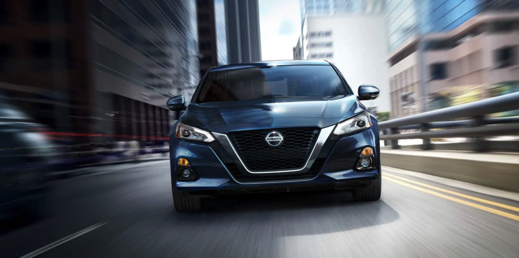 Blue 2019 Nissan Altima