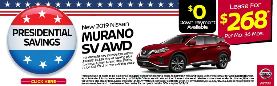 Current Lease Offers >> Nissan Lease Offers In Yorktown Heights Nissan Of Yorktown Heights