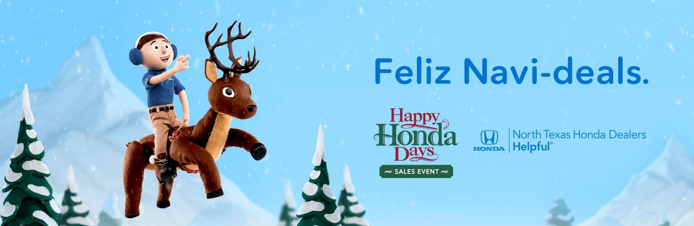 Happy Honda Days Sales Event North Texas Honda Dealers Banner