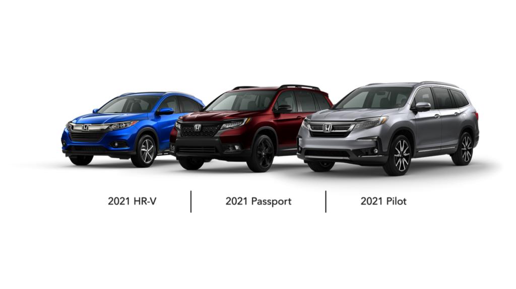 2021 Honda SUVs
