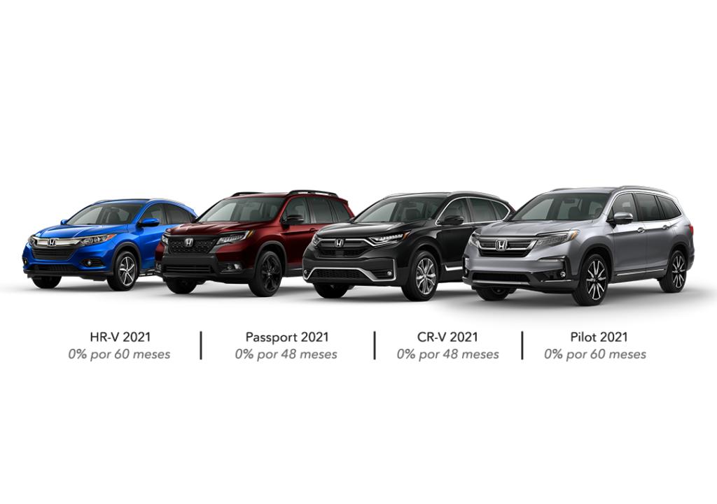 Honda SUVs 2021