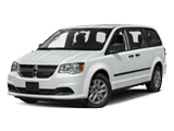 New White Dodge Grand Caravan