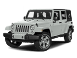 New White Jeep Wrangler JK