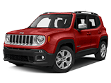 New Red Jeep Renegade