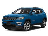 New Blue Jeep Compass