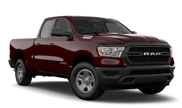 Dark Red Ram 1500 Thumbnail