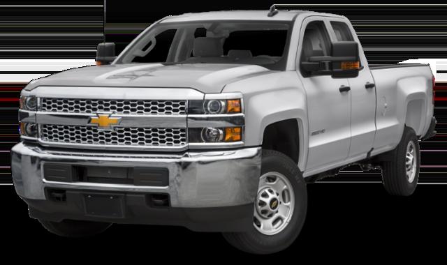 White 2019 Chevrolet Silverado 2500 thumbnail