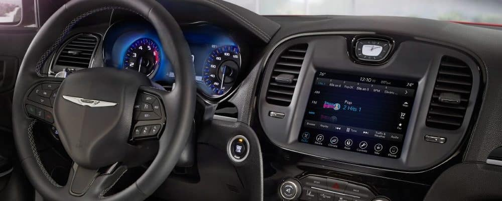 Uconnect in 2018 Chrysler vehicle
