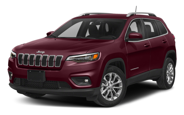 Red 2019 Jeep Cherokee thumbnail