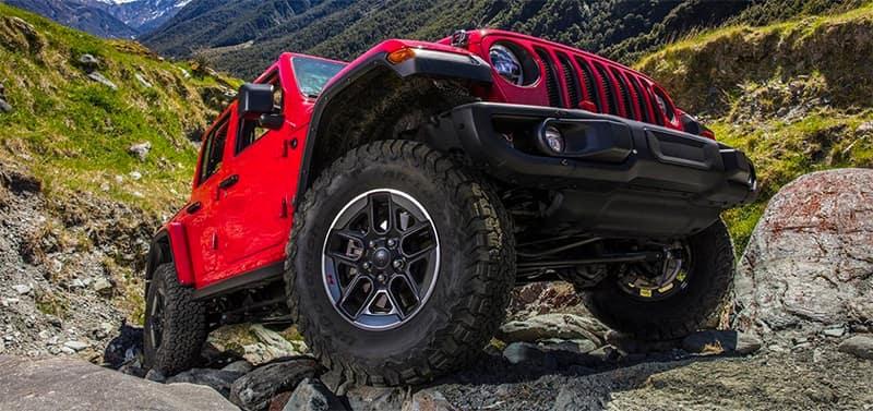 Jeep Wrangler Closeup