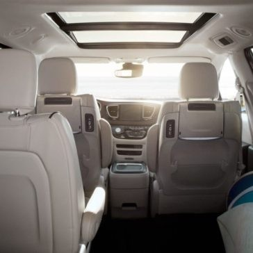2017 Chrysler Pacifica Interior Back View