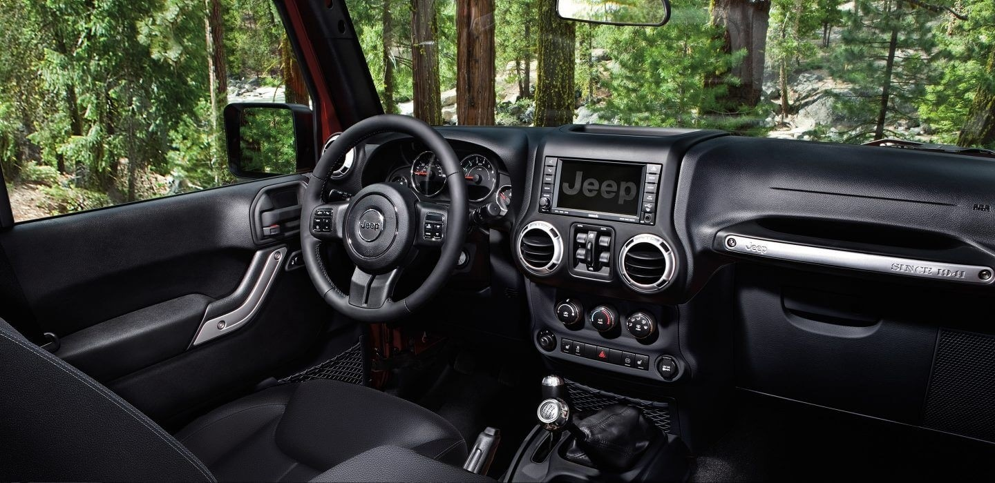 2017 Jeep Wrangler Interior Features