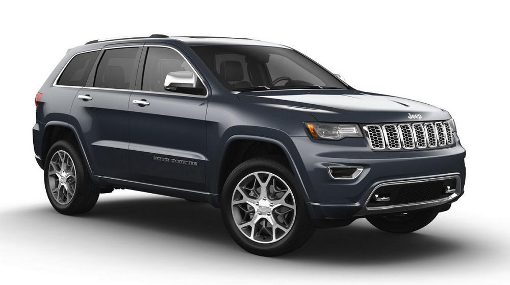 New 2021 Jeep Grand Cherokee Overland 4X4