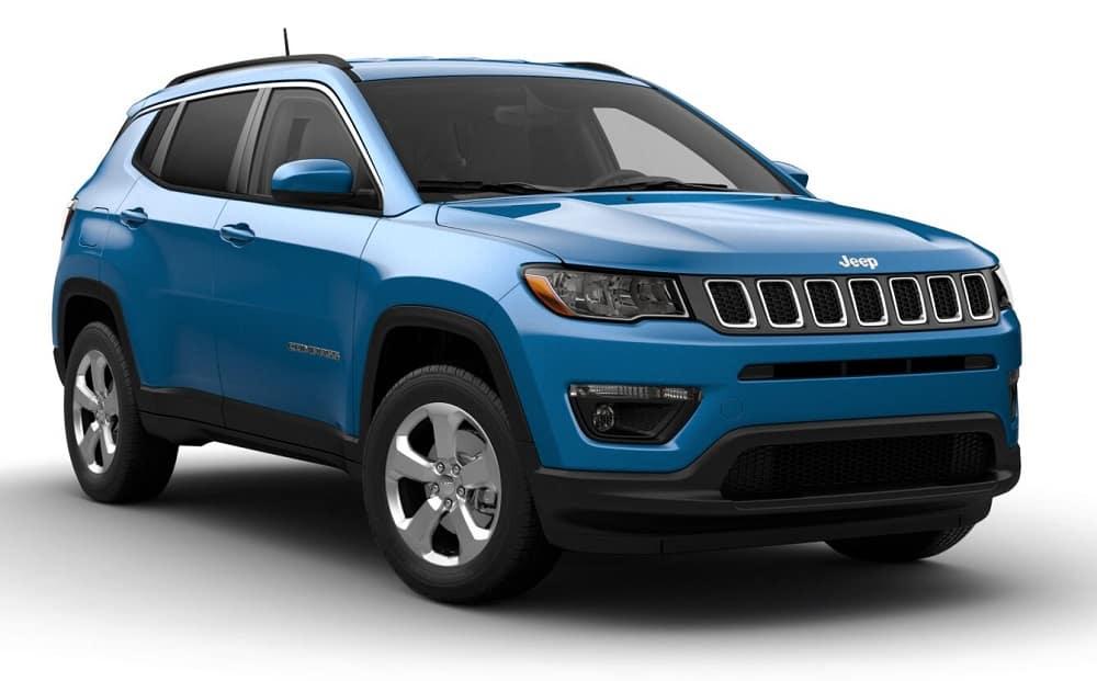New 2021 Jeep Compass Latitude 4X4