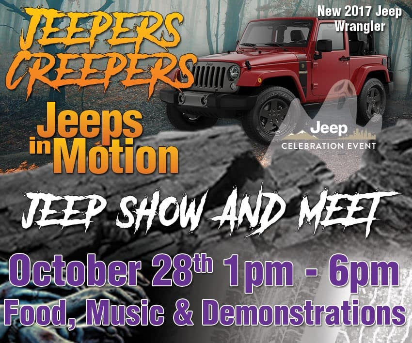 Jeeps in Motion, Jeep Celebration Event