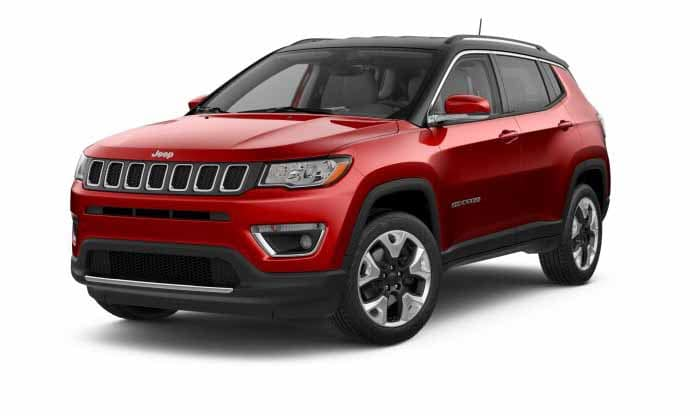 2018 Jeep Compass Limited Redline Pearlcoat Exterior