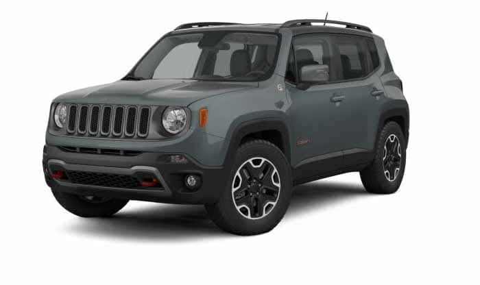 2018 Jeep Renegade Trailhawk Anvil Exterior