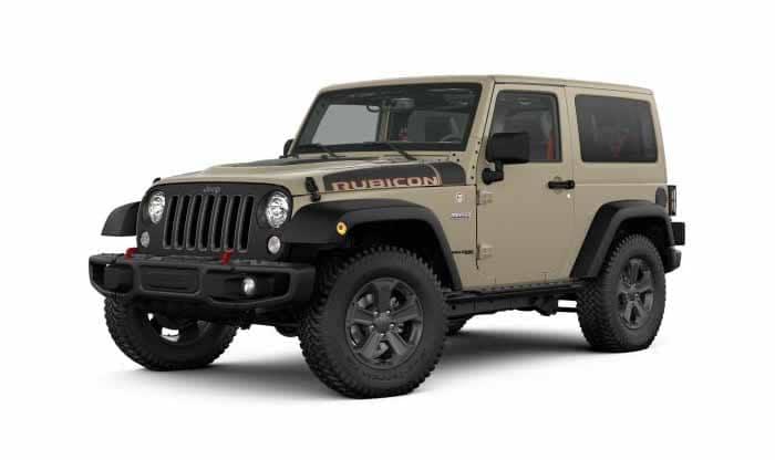 2018 Jeep Wrangler JK Rubicon Recon Gobi Exterior