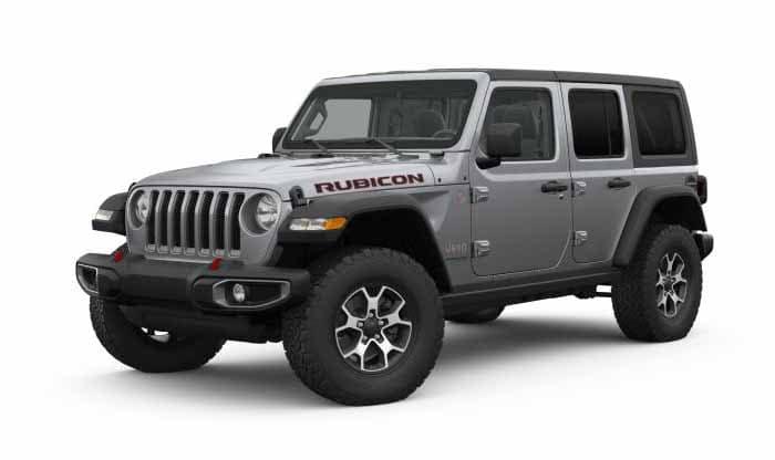 2018 Jeep Wrangler Rubicon Billet Silver Exterior