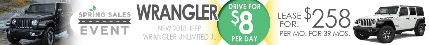 March Wrangler Lease