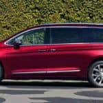 2018 Chrysler Pacifica Red Color