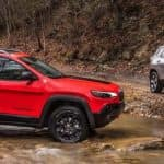 Jeep Cherokee Models on Trails