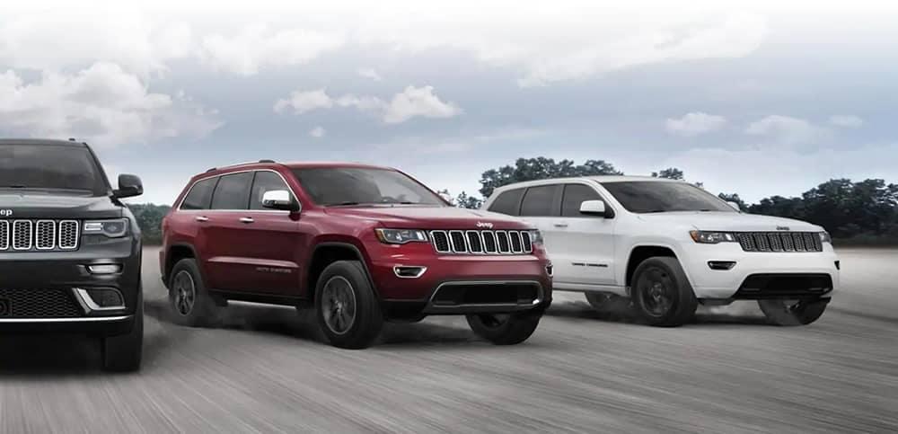 2019 Jeep Grand Cherokee Trims