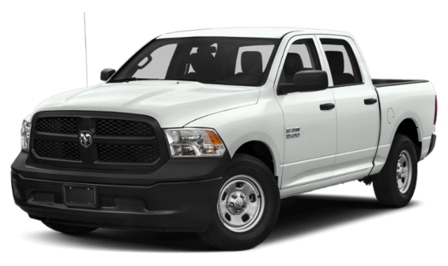 2019 RAM 1500 Classic white pick up truck