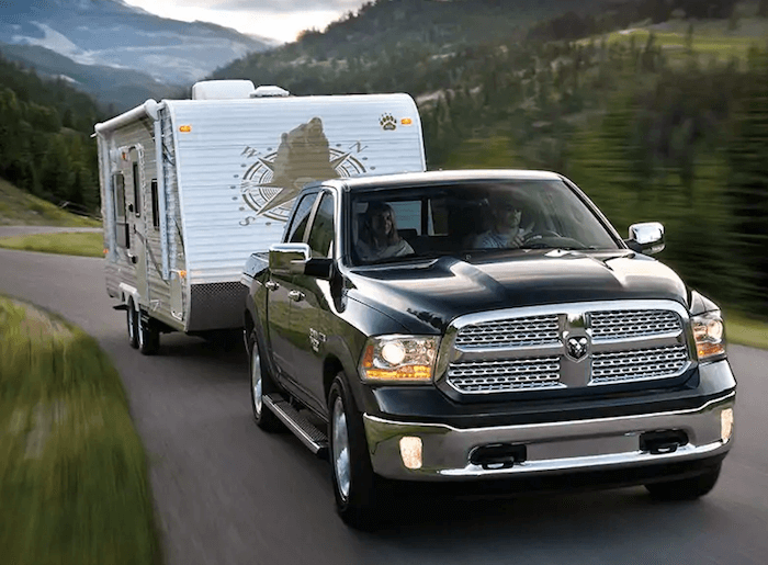 2019 RAM 1500 classic towing trailer