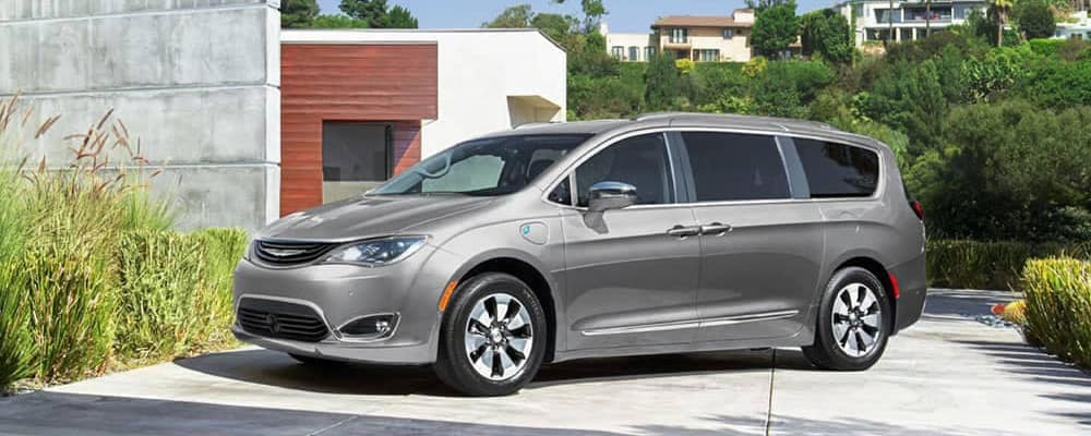 2019 Chrysler Pacifica in driveway