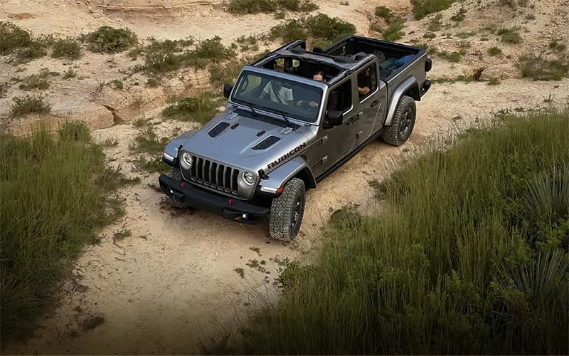 2020 All-New Jeep Gladiator in desert
