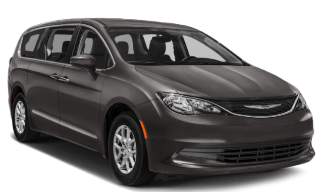 2019 Chrysler Pacifica minivan black