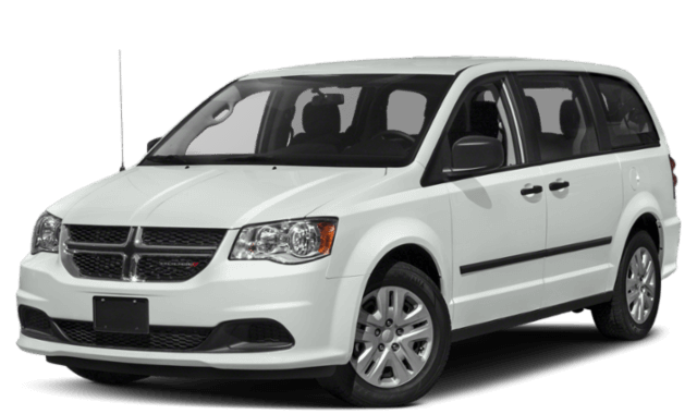 2019 Dodge Grand Caravan minivan white