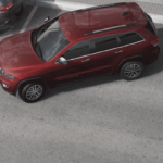 Red Jeep Grand Cherokee