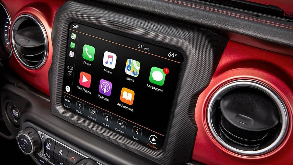 2020 Jeep Wrangler Technology