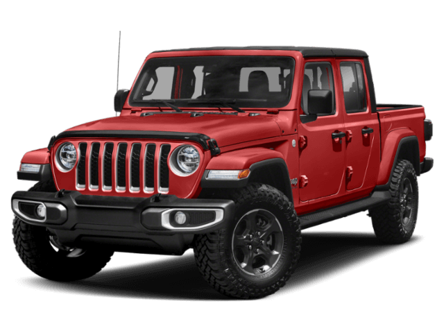 2020 Jeep Gladiator front view