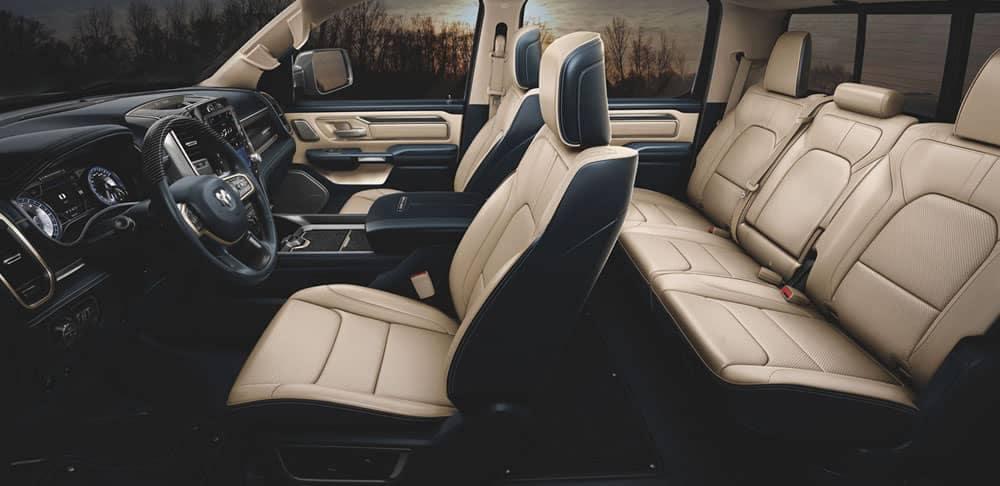 2020 Ram 1500 Limited interior seating