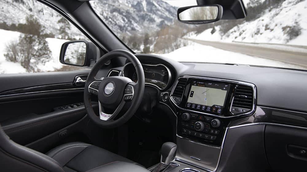 2020 Jeep Grand Cherokee Dash