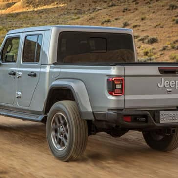 2020 Jeep Gladiator Rear