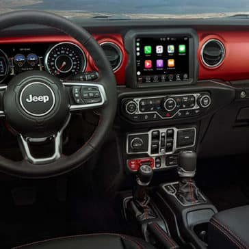 2020 Jeep Gladiator Dash