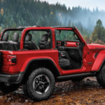2020 Jeep Wrangler red