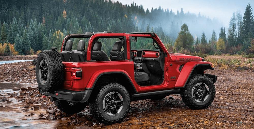 2020 Jeep Wrangler red